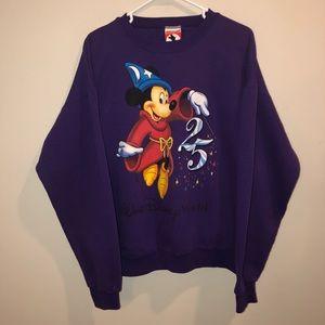 Disney Mickey Mouse fantasia 25th Sweatshirt VTG